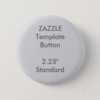 """Gewohnheit 2,25"""" runde Knopf-Raum-Schablone Runder Button 5,7 Cm"""