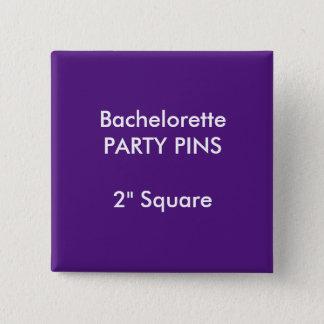 """Gewohnheit 2"""" quadratisches quadratischer button 5,1 cm"""