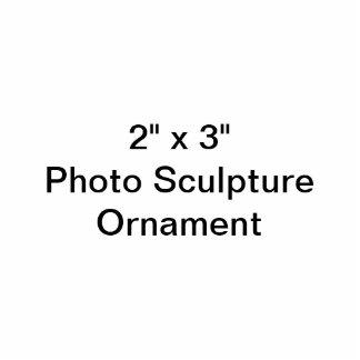 """Gewohnheit 2"""" x 3"""" Foto-Skulptur-Verzierung Fotoskulptur Ornament"""