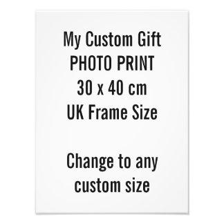 Gewohnheit 30 x 40 cm Foto-Druck-BRITISCHE Fotodruck