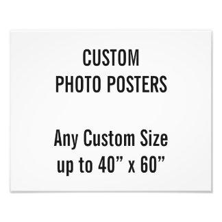 """Gewohnheit 350 x 280mm Foto-Plakat, bis 40"""" x 60"""" Fotodruck"""