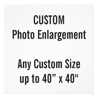 """Gewohnheit 40"""" x 40"""" Foto-Druck (oder irgendeine Fotodruck"""