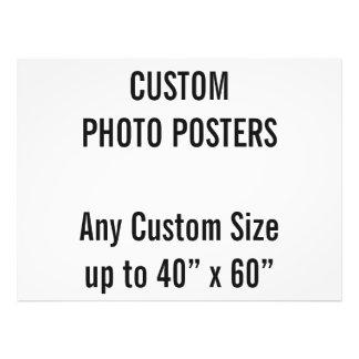 """Gewohnheit 48"""" x 6"""" Foto-Plakat, bis 40"""" x 60"""" Fotodruck"""