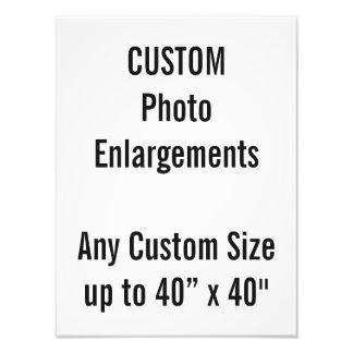 """Gewohnheit 4"""" x6"""" Foto-Erweiterung bis zu 40"""" x40 Fotodruck"""