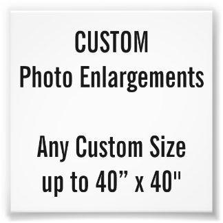 """Gewohnheit 4"""" x 4"""" Foto-Erweiterung, bis 40"""" x 40"""" Fotodruck"""