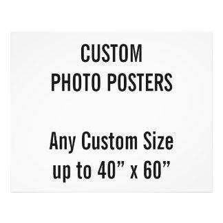"""Gewohnheit 50"""" x 40"""" Foto-Plakat, bis 40"""" x 60"""" Fotodruck"""