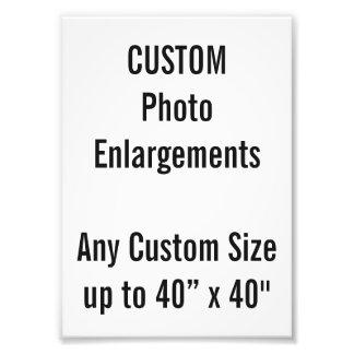 """Gewohnheit 5"""" x7"""" Foto-Erweiterung bis zu 40"""" x40 Fotodruck"""