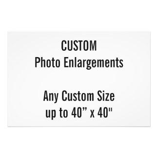 """Gewohnheit 6"""" x24"""" Foto-Erweiterung bis zu 40"""" x40 Fotodruck"""