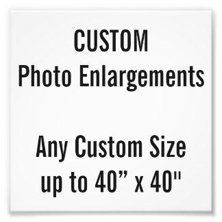 """Gewohnheit 6"""" x 6"""" Foto-Erweiterung, bis 40"""" x 40"""" Fotodruck"""