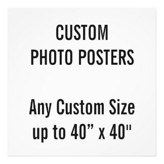 """Gewohnheit 6"""" x 6"""" Foto-Plakat, bis 40"""" x 40"""" Fotodruck"""
