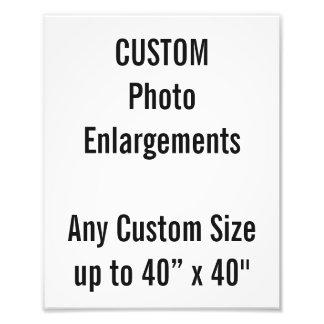 """Gewohnheit 8"""" x10"""" Foto-Erweiterung bis zu 40"""" x40 Fotodruck"""