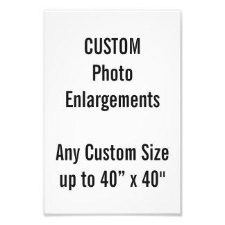 """Gewohnheit 8"""" X12"""" Foto-Erweiterung bis zu 40"""" x40 Fotodruck"""