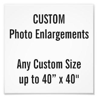 """Gewohnheit 8"""" x 8"""" Foto-Erweiterung, bis 40"""" x 40"""" Fotodruck"""