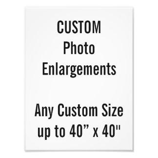 """Gewohnheit 9"""" X12"""" Foto-Erweiterung bis zu 40"""" x40 Fotodruck"""