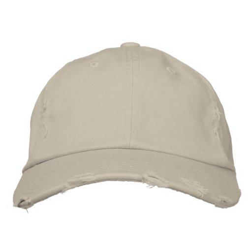 Stein District Threads Distressed Chino-Köper-Kappe Embroidered Hat