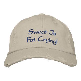 Gewohnheit beunruhigte Baseballmütze Bestickte Kappe