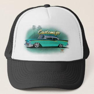 Gewohnheit Chevy Baseballmütze 1957 Truckerkappe