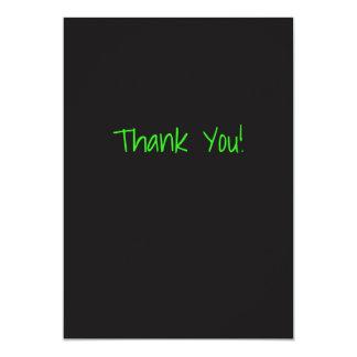 Gewohnheit danken Ihnen zu kardieren Karte