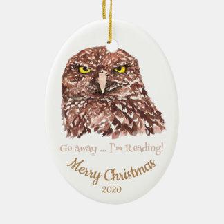Gewohnheit datiertes Weihnachten gehen Keramik Ornament