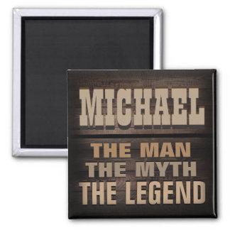 Gewohnheit, der Mann, der Mythos, die Legende Quadratischer Magnet