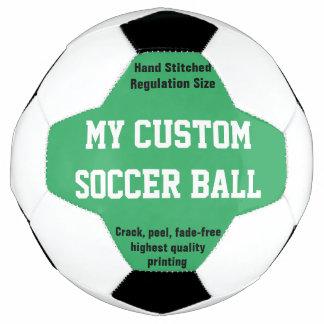 Gewohnheit DruckFußball-Fußball Futbol GRÜN Fußball