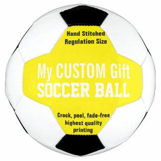 Gewohnheit DruckFußball, zum des GELBS zu Fußball