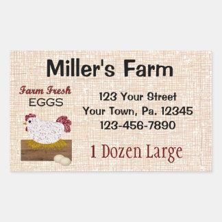 Gewohnheit Eggs Aufkleber