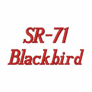 Gewohnheit gestickter T - Shirt SR-71 (XL)