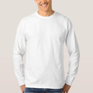 Gewohnheit gesticktes langes Hülsen-Shirt Besticktes Langarmshirt