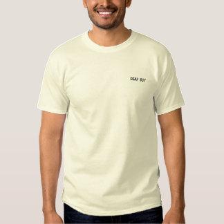 Gewohnheit gesticktes langes Hülsen-Shirt! Besticktes T-Shirt