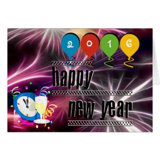 Gewohnheit Ihre guten Rutsch ins Neue Jahr-Karte Karte