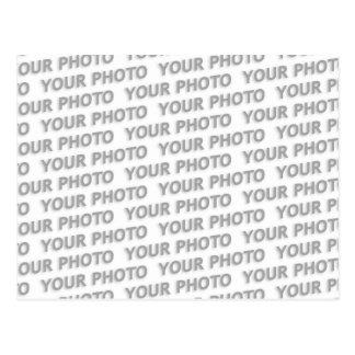 Gewohnheit Ihre Text-, Bild- u. Hintergrundfarbe Postkarte