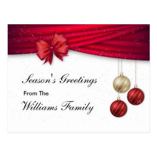 Gewohnheit, stilvoll, die Grüße der Jahreszeit, Postkarten