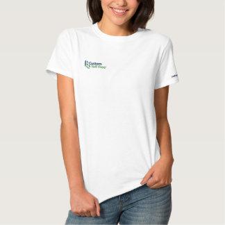 Gewohnheit Toll-free Besticktes T-Shirt