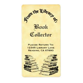 Gewohnheit von der Bibliothek der Vintagen