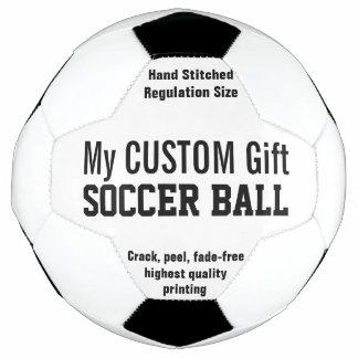 Gewohnheit zu personifizieren DruckFußball Fußball