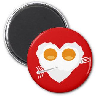 Gewohnheits-Magnet Herz des Valentinstags lustiger Magnets