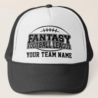 Gewohnheits-Team des Fantasie-Fußball-FFL Truckerkappe