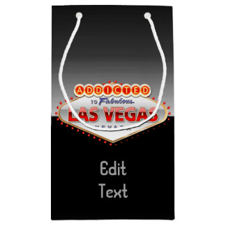 Gewöhnt nach Las Vegas, lustiges Zeichen Nevadas Kleine Geschenktüte