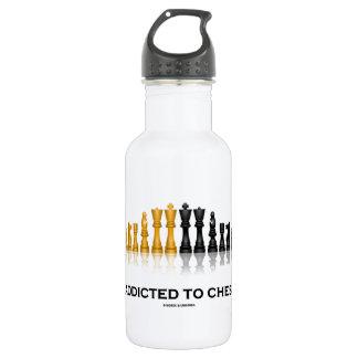 Gewöhnt zum Schach (Spaß-reflektierendes Trinkflaschen