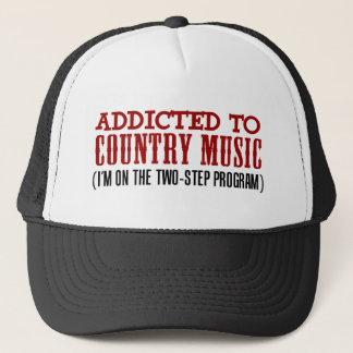 Gewöhnt zur Countrymusik (2 Schritt-Programm) Truckerkappe