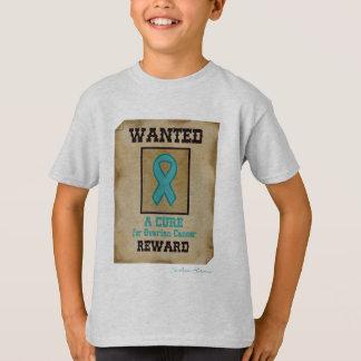 Gewollt - eine Heilung für Eierstockkrebs-T - T-Shirt
