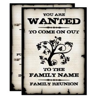 Gewolltes Familien-Wiedersehen 16,5 X 22,2 Cm Einladungskarte