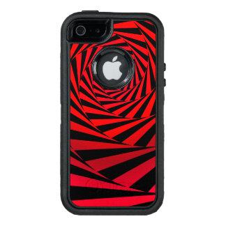 Gewundene Alternative des Rotes OtterBox iPhone 5/5s/SE Hülle
