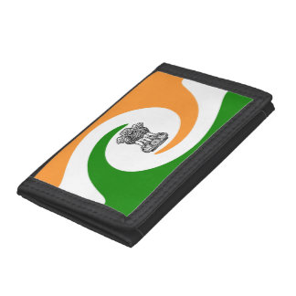 Gewundene Flagge des Inders