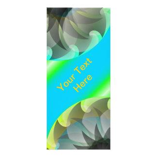 Gewundene Haifisch-Gestell-Karte Werbekarte