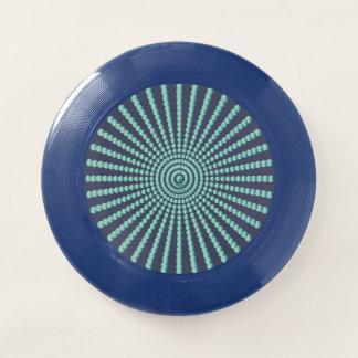 Gewundene Kreise der optischen Täuschung Wham-O Frisbee