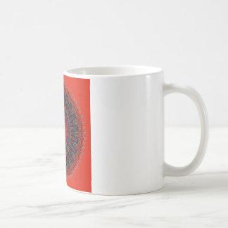 Gezackte Ränder des Wirklichkeits-Kaleidoskops Kaffeetasse