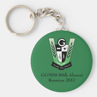 GGMSS Keychain Standard Runder Schlüsselanhänger