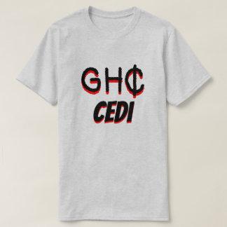 GH₵ ghanaisches CEDIgrau T-Shirt